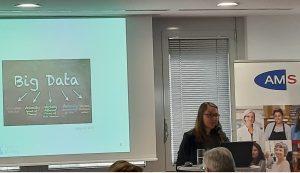 Ilona Horwath bei der AMS-Minikonferenz am 3. März 2019; Foto: Clara Fritsch CC